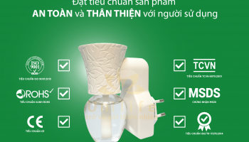 Bộ sản phẩm khuếch tán tinh dầu thông minh – Unilife Air Fresh