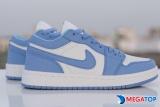Đánh giá chi tiết giày nike Jordan 1 xanh dương cổ thấp và cách phối đồ hợp thời trang