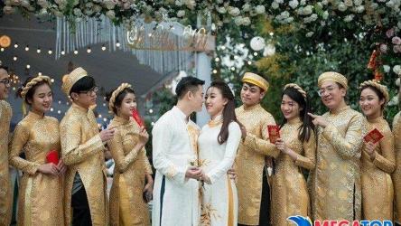 Top 10 mẫu váy cưới đi đám cưới cho giới trẻ